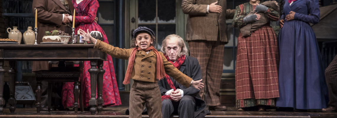 Tiny Tim Christmas Carol.Childhood Cancer Survivor Stars As Tiny Tim In A Christmas