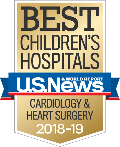 Best Children's Hospitals – U.S.News and World Report – Cardiology and Heart Surgery 2018-19