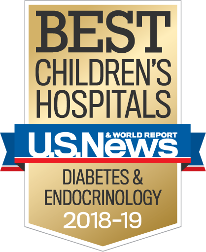 Best Children's Hospitals – U.S.News and World Report – Diabetes and Endocrinology 2018-19