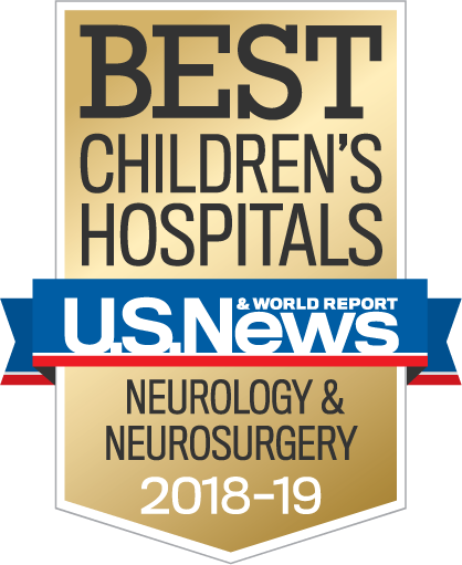 Best Children's Hospitals – U.S.News and World Report – Neurology and Neurosurgery 2018-19