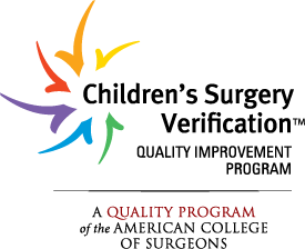Level 1 Pediatric Surgery Center by the American College of Surgeons