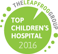 "Lurie Children's Recognition for ""Top Children's Hospital"" for Patient Safety by The Leapfrog Group"